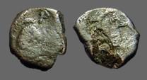 Ancient Coins - ZENO 476-491 AD. Æ10 Nummus Constantinople mint.