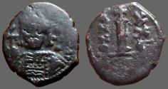 Ancient Coins - Maurice Tiberius AE21 Decanummium, year 20.  Antioch mint.