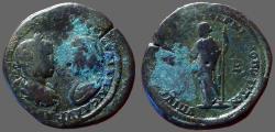 Ancient Coins - Elagabalus & Julia Maesa. AE28 Demeter.  Marcianopolis, M.I.