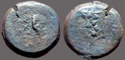 Ancient Coins - Judaea, Mattathias Antigonus AE25 8 Prutot
