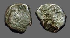 Ancient Coins - Zeno  Æ10 Nummus Constantinople mint.