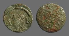 Ancient Coins - Barcelona Philip III  Ardite AE17 Ardite