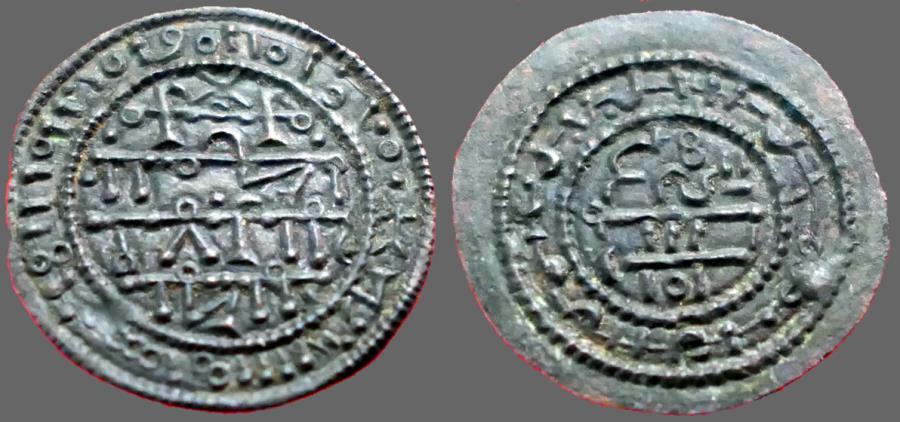Ancient Coins - Hungary, Bela III AE23 Denar