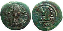 Ancient Coins - Justinian I AE35 Follis Nikomedia