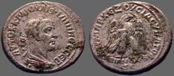 Ancient Coins - Philip I  The Arab AR Tetradrachm.  Eagle.  Antioch, Syria.
