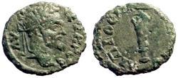 Ancient Coins - Septimius Severus AE17 Nicopolis ad Istrum.  Club of Herakles