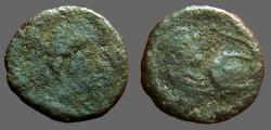 Ancient Coins - Leo I AE4 nummus / lion reverse. Constantinople.