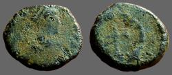 Ancient Coins - Arcadius AE11 Nummus, Cross in wreath. Antioch