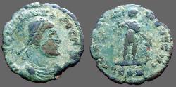 Ancient Coins - Gratian AE3 GLORIA NOVI SAECVLI