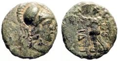 Ancient Coins - Pamphylia. Side AE13 Athena / Nike
