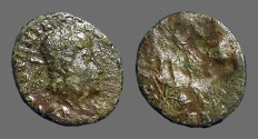 Ancient Coins - Constantius II AE3 Brockage