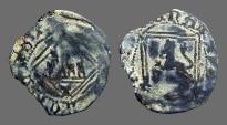 Ancient Coins - Enrique IV billon Blanca. 1471-1474   Castilia and Leon.