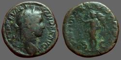 Ancient Coins - Severus Alexander AE Sestertius.  VICTORIA AVGVSTI