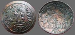 Ancient Coins - Hungary, Bela III.1172-1196  AE27 Scyphate Denar