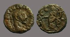Ancient Coins - Diocletian billon tetradrachm, Alexandria.  Tyche