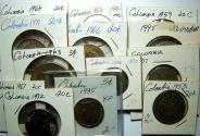 World Coins - Columbia 13 Coins