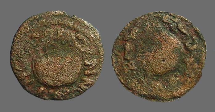 World Coins - Barcelona Charles III of Austria (the Pretender)  Ardite AE17 Ardite