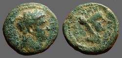 Ancient Coins - Titus AE16 Decapolis Gadara. Veiled Tyche