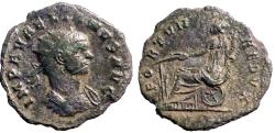 Ancient Coins - Aurelian billon antoninianus Furtuna