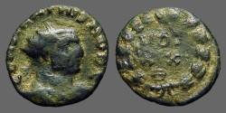 Ancient Coins - Maximainus antoninianus  VOT/XX/Θ in wreath.