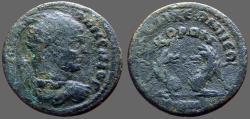 Ancient Coins - Caracalla AE26  Wolf & Bear.  Laodiceia, Phrygia