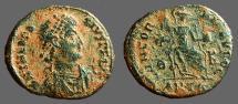 Ancient Coins - Theodosius I AE3 Constantinopolis. CONCORDIA AVGGG     Antioch