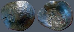 Ancient Coins - Isaac II, Angelus. AE Aspron Trachy  Constantinople