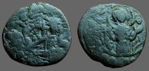 Ancient Coins - Alexius I follis, Bust of Christ facing / 3/4 length figure of Virgin Orans