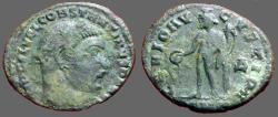 Ancient Coins - Constantine I AE 19 Follis.  Genius. GENIO AVGVSTI.  Cyzicus