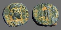 Ancient Coins - Arcadius AE13, VRBS ROMA FELIX. Roma holding Victory.