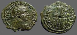 Ancient Coins - Gordian III AE23Deultum, Thrace.  Apollo adv. w. bow & arrow