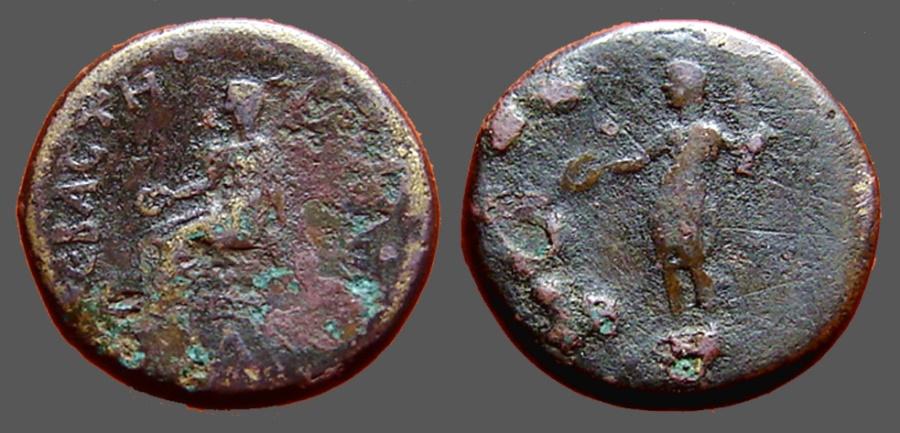 Ancient Coins - Antioch Syria AE18 Autonomous Issue under Roman Rule