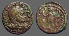 Ancient Coins - Licinius I AE18 Follis.  Sol