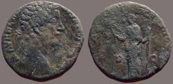 Ancient Coins - Marcus Aurelius AE27 Sestertius.  Felicitas