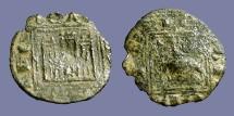 Ancient Coins - Alfonso X billon Obolo Prieto Castilia & Leon.