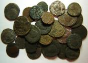 Ancient Coins - Group of Roman AE3, Antoninianus, Denar