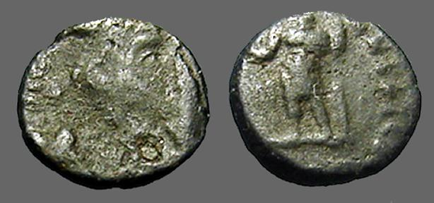 Ancient Coins - Constantius II AE3/4 (17mm) SPES REIPUBLICE S#4011