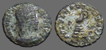 Ancient Coins - Constans AE3 Phoenix on funeral pyre.  Siscia.