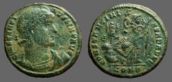 Ancient Coins - Constantine I The Great AE3  / DAFNE  Victory on cippus