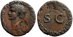 Ancient Coins - Germanicus AE26 as struck under Caligula