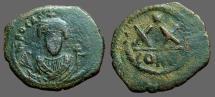 Ancient Coins - Phocas.AE20 Nummi XX. Constantinople
