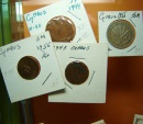 World Coins - 4 coins of Cyprus
