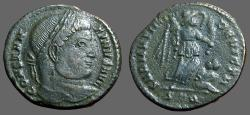 Ancient Coins - Constantine I the Great AE3 Victory over Sarmatia