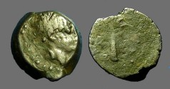 Ancient Coins - Alexander II Zebinas AE14 Palm Tree