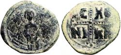 Ancient Coins - Anonymous Class C AE29 Follis. Attributed to Michael IV
