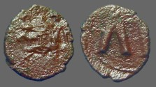 Ancient Coins - Leo V the Armenian. Λ Κ with cross between. Syracuse.
