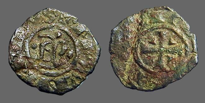 World Coins - Italy, Messina. Manfredi bi denaro. AP.R