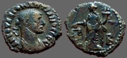 Ancient Coins - Diocletian billom tetradrachm. Dikaiosyne.  Alexandria