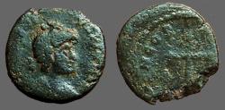 Ancient Coins - Honorius AE4 (12mm)  Cross.  CONCORDIA AVGGG