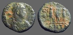 Ancient Coins - Honorius AE3 Theodosius, Aracadius, Honorius stg.  Antioch,  Turkey